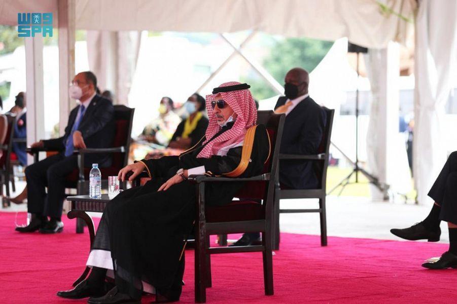 وزير الدولة لشؤون الدول الإفريقية يشارك في مراسم تنصيب رئيس جمهورية أوغندا