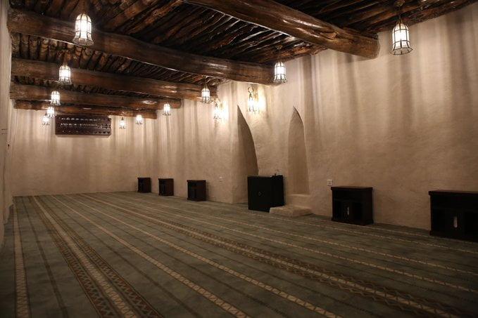 من مشروع الأمير محمد بن سلمان لتطوير المساجد التاريخية بالمملكة .. مسجد صدرأيد الذي بُني في عهد هارون الرشيد