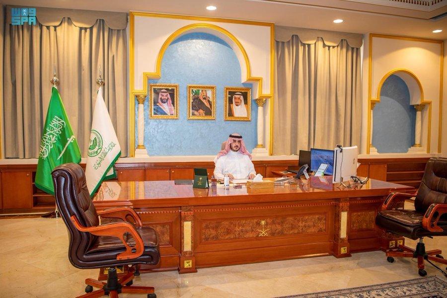 أمير منطقة الجوف يبحث خطط الأجهزة الحكومية وجاهزية منفذ الحديثة لاستقبال المغادرين والقادمين للمملكة