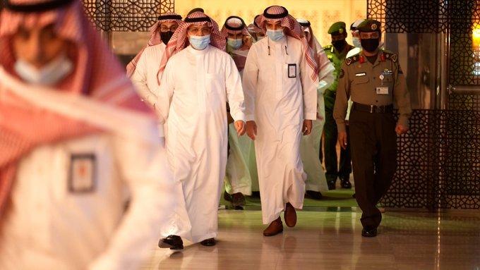 رئيس هيئة الطيران المدني يتفقَّد مطار الملك خالد الدولي بالرياض