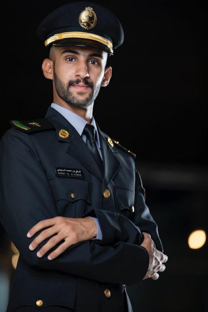 """""""السبيعي """" ملازما من كلية الملك خالد العسكرية"""