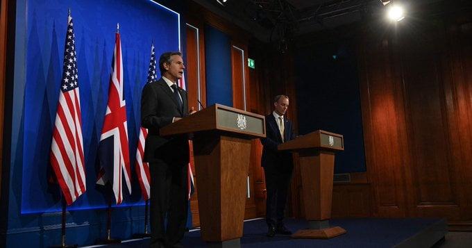 وزراء خارجية مجموعة السبع يدعون إلى الوحدة في مواجهة التهديدات