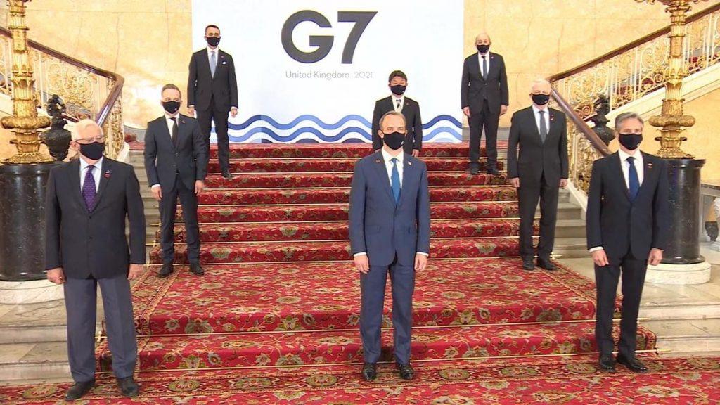 وزراء خارجية مجموعة السبع يجددون التزامهم بعدم السماح لإيران بامتلاك سلاح نووي