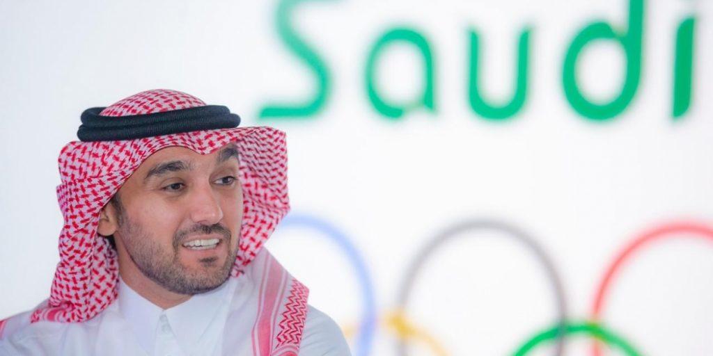 وزير الرياضة لـ نجوم المنتخب السعودي: طموحنا فيكم كبير
