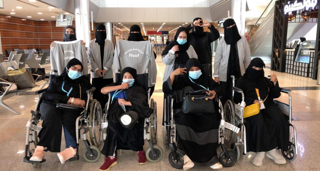 """نادي ذوي الإعاقة بتبوك يشارك في بطولة المملكة المفتوحة لألعاب القوى """"بنات"""""""