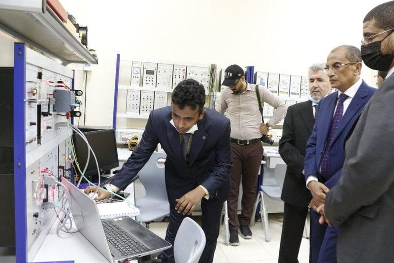 وزير التعليم العالي الجيبوتي يثمن جهود المملكة في دعم التعليم التقني