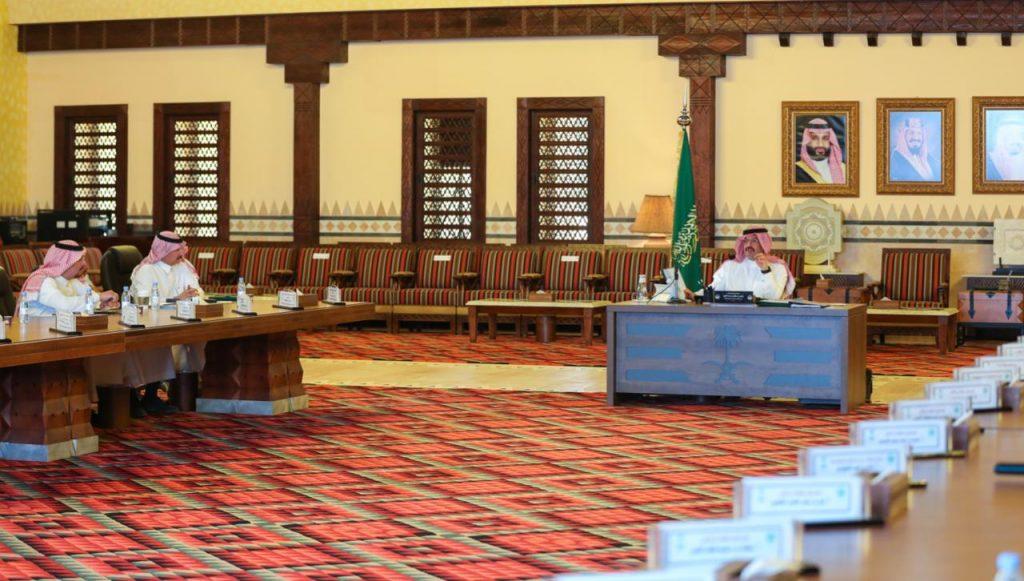 أمير عسير يرأس الجلسة الثانية لمجلس المنطقة بدورته الثانية للعام المالي الحالي