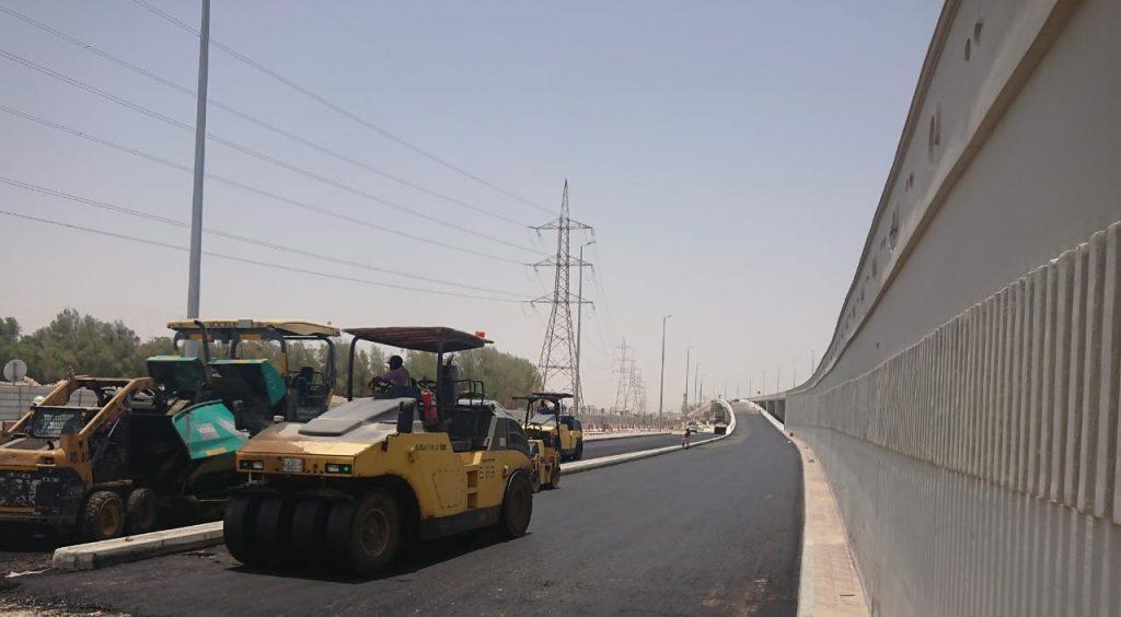 90 % نسبة إنجاز مشروع جسر طريق الأمير نايف بن عبد العزيز مع تقاطع سكة الحديد بالدمام.. والافتتاح نهاية أغسطس