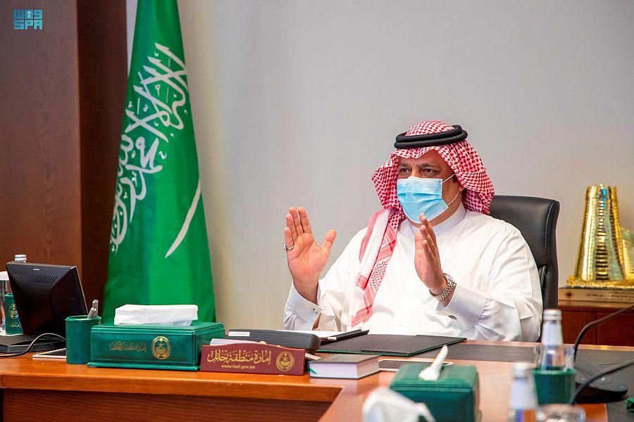 الأمير عبدالعزيز بن سعد يرأس اجتماعاً لدراسة تعظيم الاستفادة الشاملة من المياه المعالجة بمدينة حائل