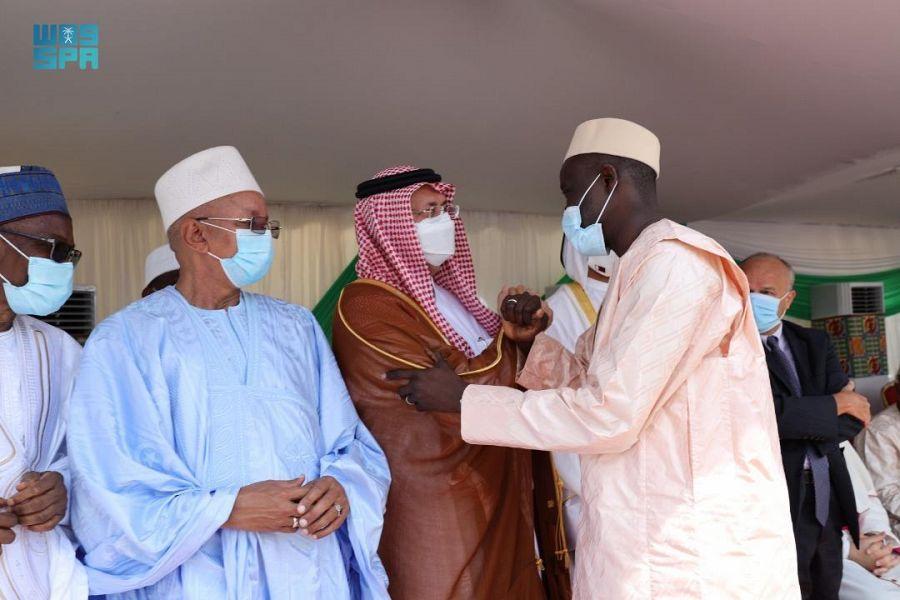 السفير السبيعي يشارك في حفل تنصيب رئيس المجلس الأعلى للأئمة في كوت ديفوار
