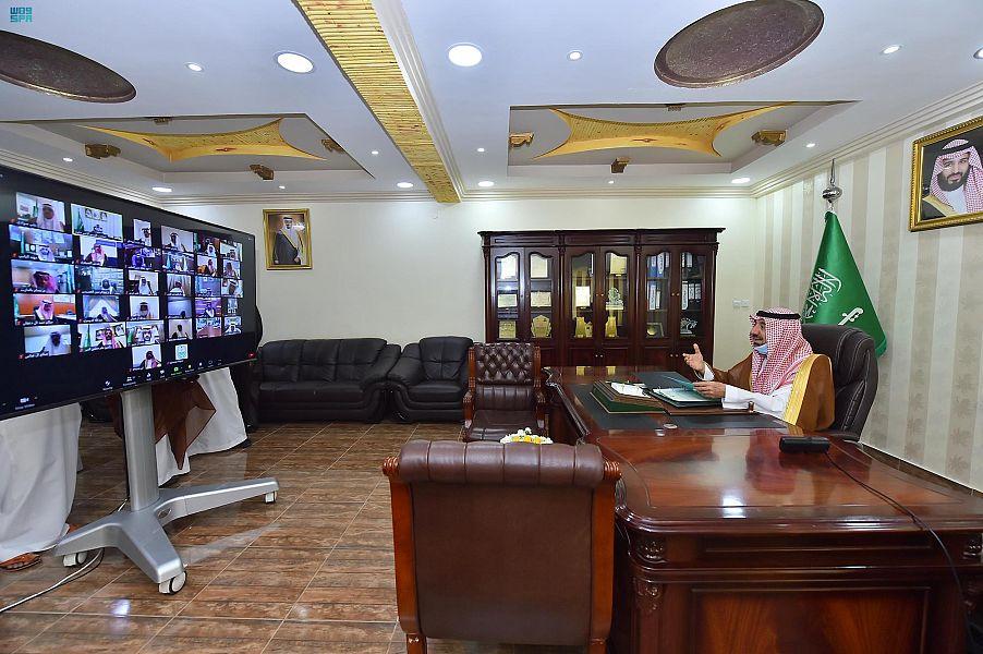 أمير نجران يرأس دورة الانعقاد الثانية لمجلس المنطقة للعام المالي الجاري بمحافظة حبونا