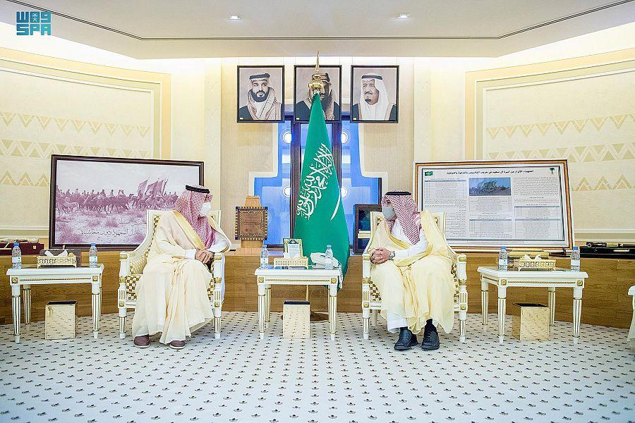 أمير منطقة القصيم يستقبل رئيس الديوان العام للمحاسبة