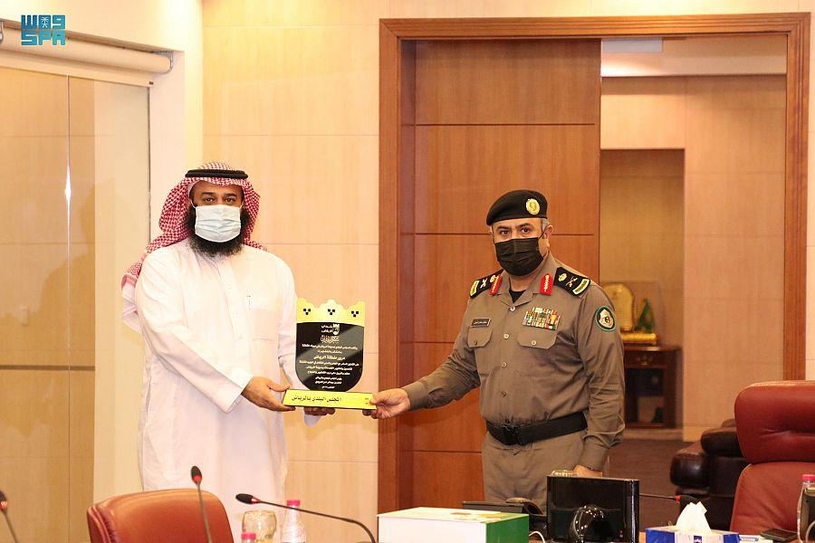 المجلس البلدي بالرياض يزور إدارة مرور الرياض لمناقشة عدد من المقترحات