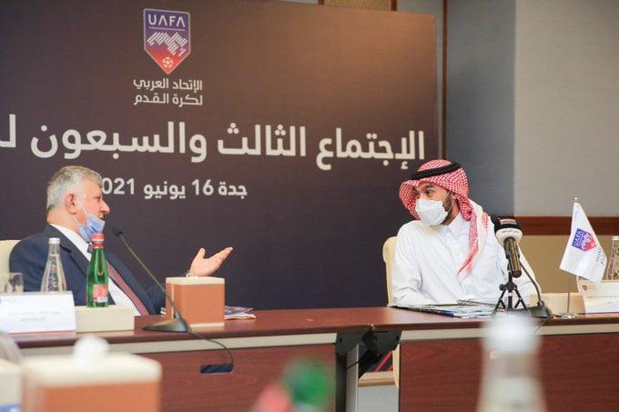 الأمير عبدالعزيز بن تركي الفيصل  يرأس اجتماع مجلس الاتحاد العربي لكرة القدم الـ 73
