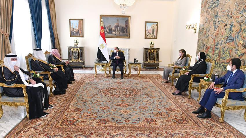 الرئيس المصري يستقبل وزير التجارة ويؤكد الحرص على تعزيز العلاقات مع المملكة