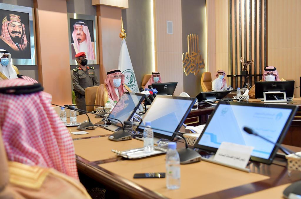 أمير منطقة جازان وبحضور سمو نائبه يرأس اجتماع اللجنة التنفيذية للإسكان التنموي بالمنطقة