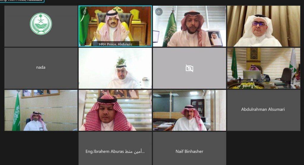 أمير حائل يرأس الاجتماع التعريفي لمجالس التنمية السياحية بالوجهات السياحية المعتمدة