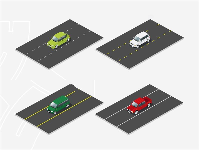 تعرّف على دلالات الخطوط المرسومة على الطرقات