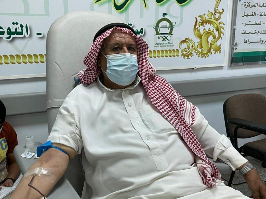 مستشفى صوير العام ينظم حملة التبرع بالدم