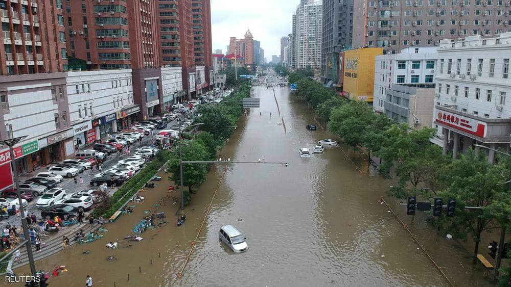 ارتفاع حصيلة ضحايا الفيضانات المدمرة في الصين