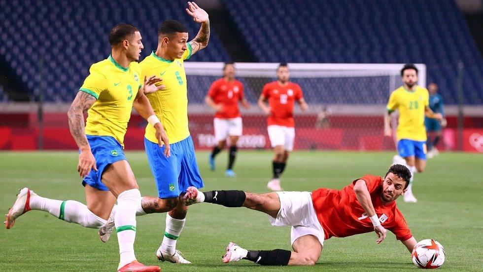 مصر تخسر أمام البرازيل وتودع منافسات كرة القدم في أولمبياد طوكيو