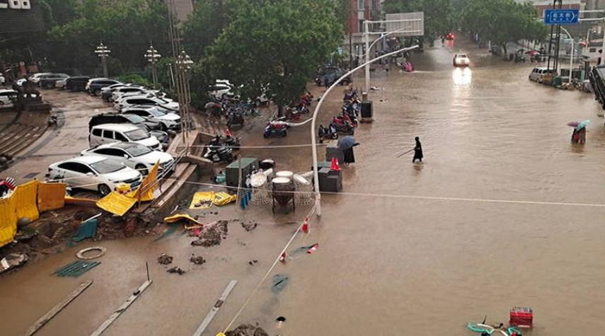 مصرع 25 شخصاً نتيجة فيضانات وسط الصين
