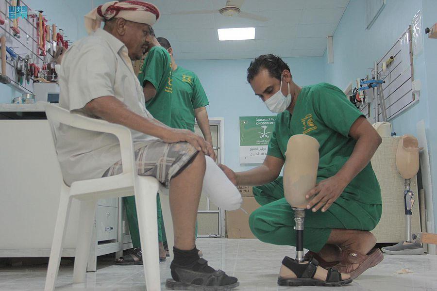 بدعم من مركز الملك سلمان للإغاثة .. مركز الأطراف الصناعية في سيئون يواصل تقديم خدماته الطبية للمستفيدين خلال شهر يونيو