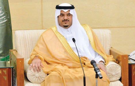 """أمير الرياض بالنيابة يؤكد أهمية تكثيف الجولات الرقابية لضبط مخالفات تدابير """"كورونا"""""""