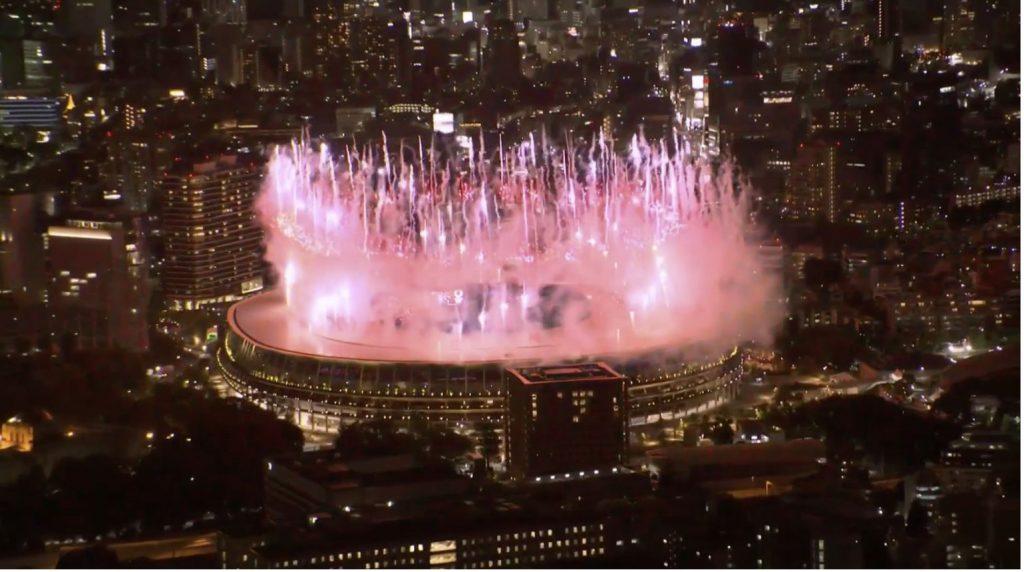 بدء مراسم حفل افتتاح أولمبياد طوكيو