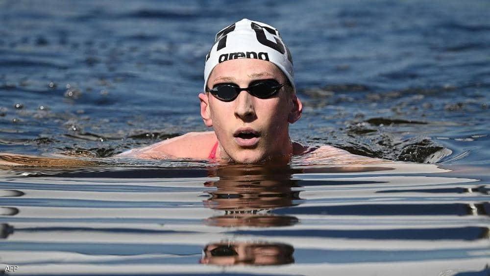 الألماني فيلبروك يفوز بذهبية ماراثون السباحة في أولمبياد طوكيو