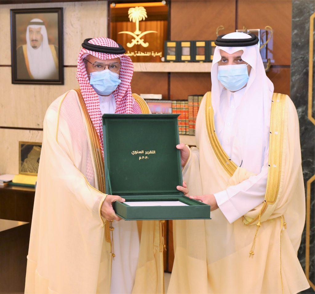 أمير الشرقية يستقبل الرئيس التنفيذي لمؤسسة جسر الملك فهد