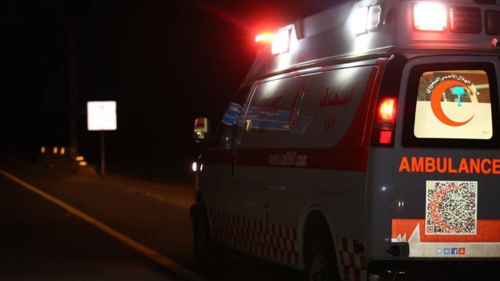 إصابة 6 أشخاص في حادث تصادم على طريق كوبري رابغ بمكة