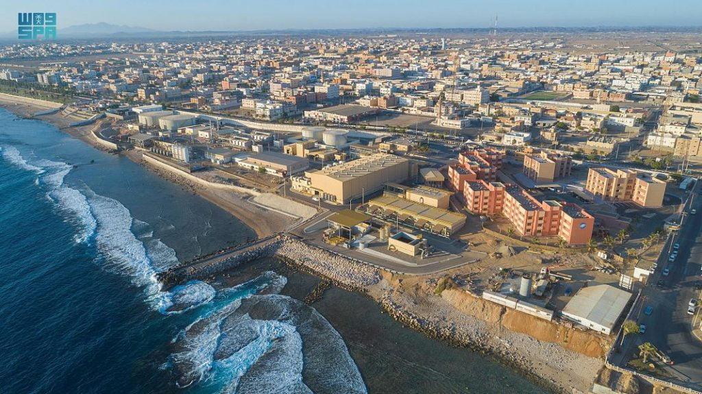 التحلية تُزوِّد محافظة الوجه بمايزيد عن 25 ألف متر مكعب من المياه المحلاة يومياً