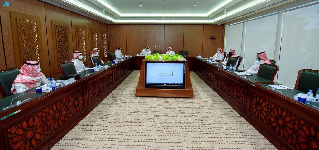الديوان العام للمحاسبة يستقبل وفداً من إمارة منطقة مكة المكرمة