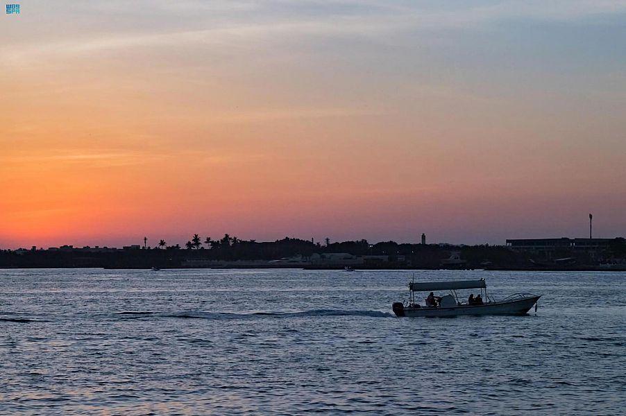 خليج أبحر بمحافظة جدة يتصدر الواجهات السياحية بتاريخه العريق
