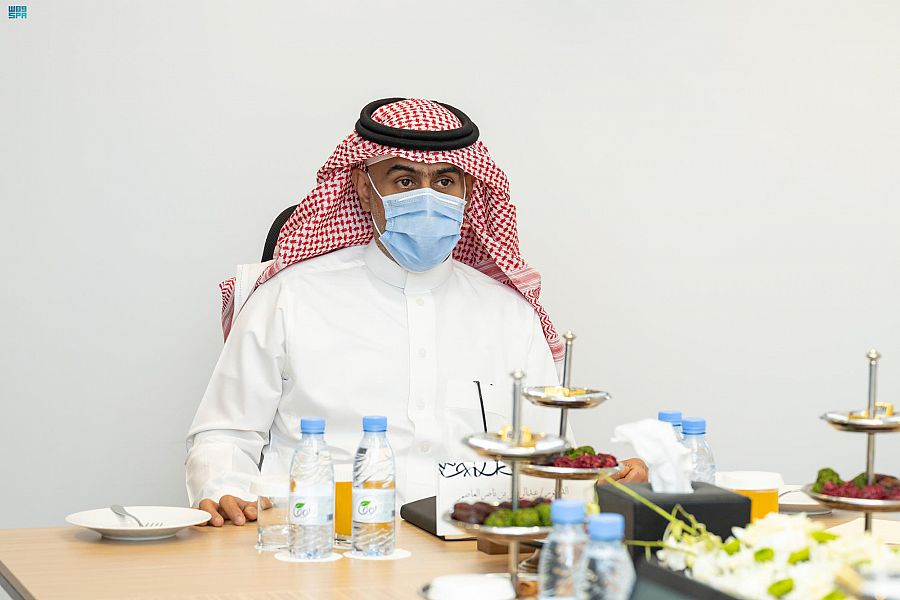 رئيس هيئة المكتبات يلتقي برئيس الاتحاد العربي للمكتبات والمعلومات
