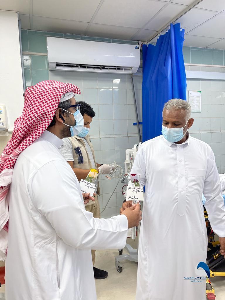 """""""الأحمري"""" يباشر مهام عمله مديراً لمستشفى صامطة العام"""