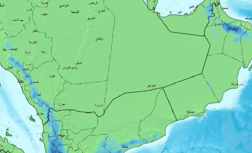 الحصيني: سقوط أمطار غدًا الثلاثاء على عدة مناطق بالمملكة
