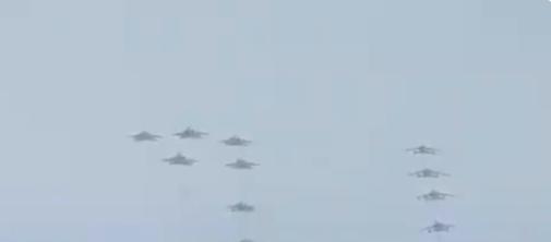 بدء العروض الجوية بمناسبة اليوم الوطني 91