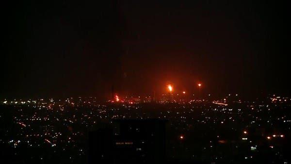 اندلاع حريق مروع داخل مركز أبحاث تابع لميليشيا الحرس الثوري في طهران