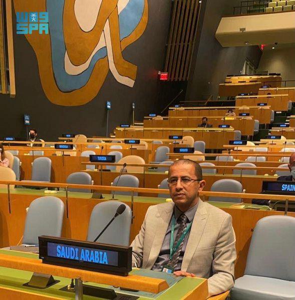 """""""العتيق"""" يبرز دور المملكة الكبير في دعم النازحين بالأمم المتحدة"""