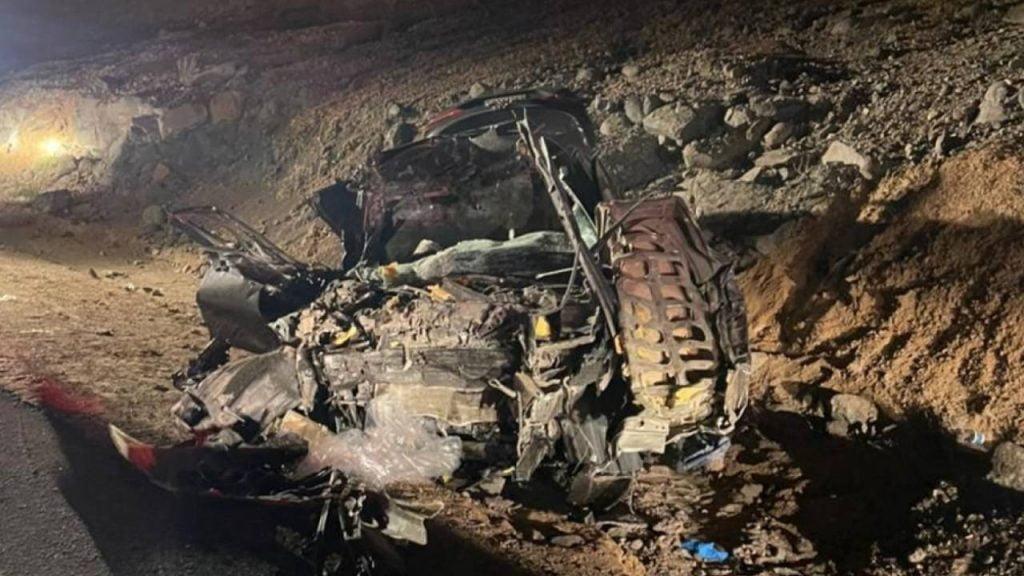 مصرع شخص وإصابة آخرين بحادث تصادم مروع في الباحة