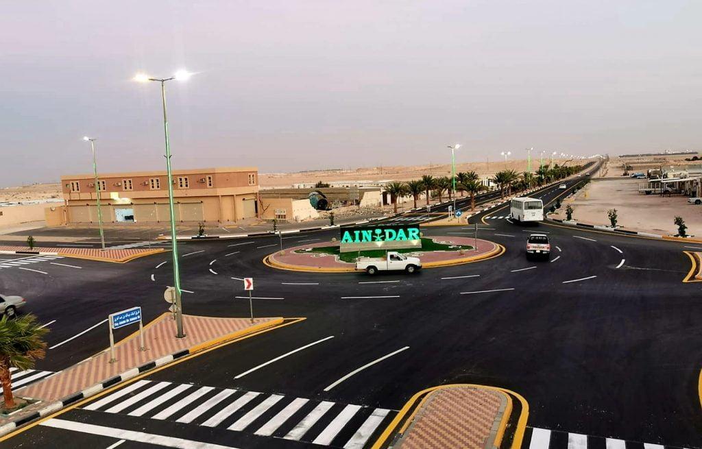 انتهاء تطوير ورفع مستوى السلامة المرورية بطريق الملك عبدالله بن عبدالعزيز