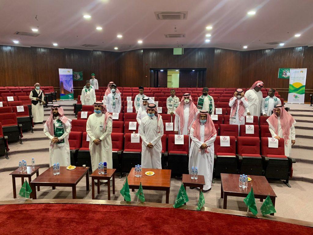 """المشمولين بالرعاية في موارد الرياض يشاركون في احتفالات الوطن من خلال """" 27″ فعالية"""