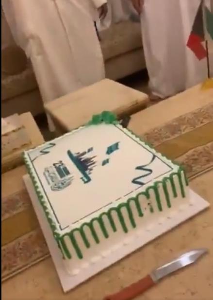 كويتيون يشاركون المملكة في احتفالات اليوم الوطني الـ91 (فيديو)