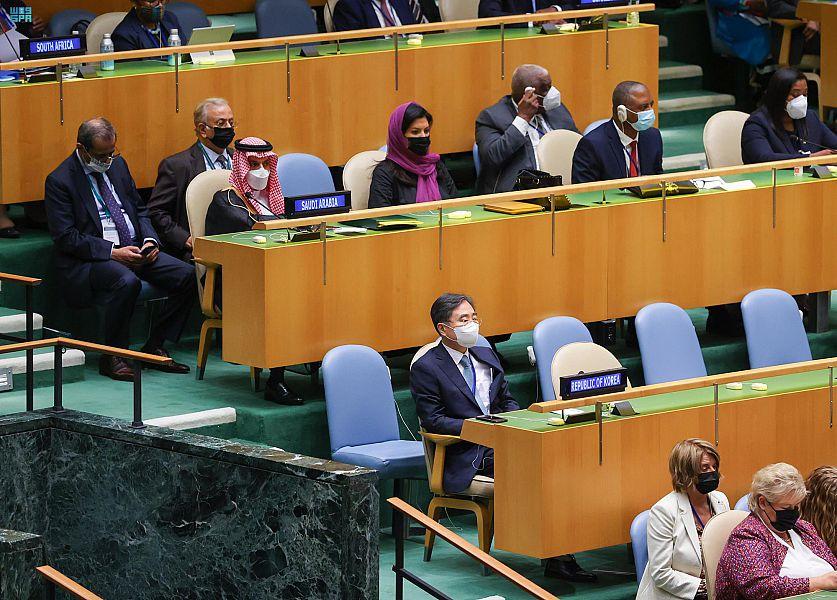 وزير الخارجية يترأس وفد المملكة في الجلسة الافتتاحية للأمم المتحدة
