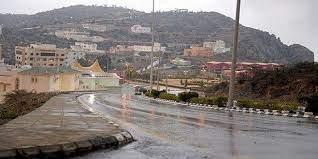 """""""الأرصاد"""": هطول أمطار غزيرة على منطقة جازان حتى الـ 7 مساءً"""